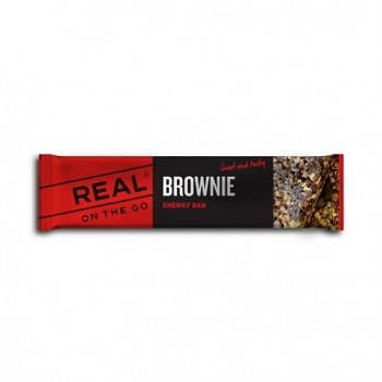 REAL ® On the Go Energieriegel - Brownie