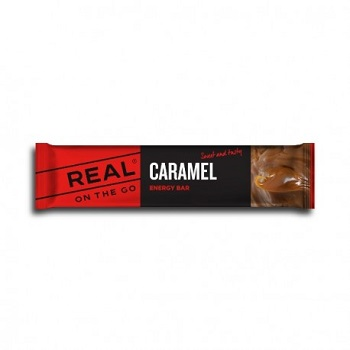 REAL ® On the Go Energieriegel - Karamell