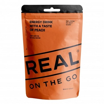 REAL ® On the Go Energy Drink - Pfirsich