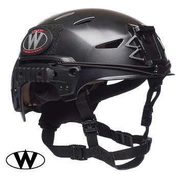 Team Wendy ® EXFIL LTP Helmet, Black - Gr. M/L