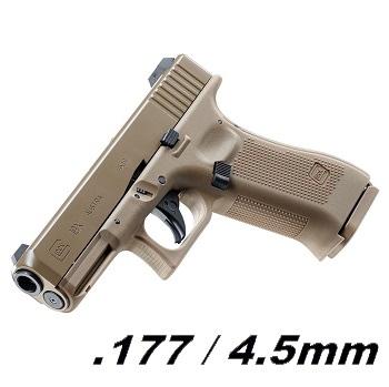 Umarex Glock G19X Co² BlowBack 4.5mm BB - Desert