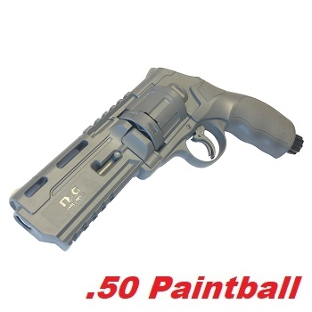 T4E HDR 50 Cal .50 Revolver (11 Joule) - Tungsten Grey