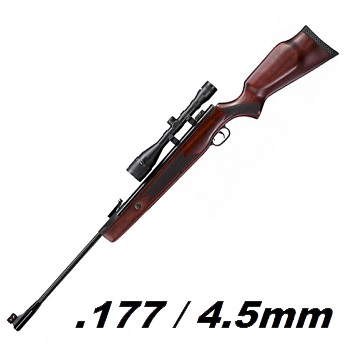 Hämmerli Hunter Force 1000 Luftgewehr Set 4.5mm Diabolo - 24 Joule
