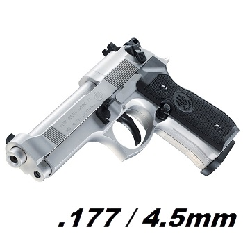 Beretta M92 FS Co² 4.5mm Diabolo - Nickel
