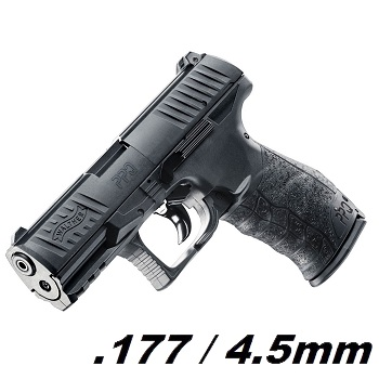 Walther PPQ Co² 4.5mm Diabolo - Black