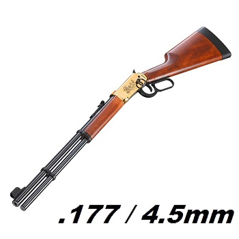 Walther Lever Action (Winchester) Co² 4.5mm Diabolo, Wells Fargo - 7.5 Joule