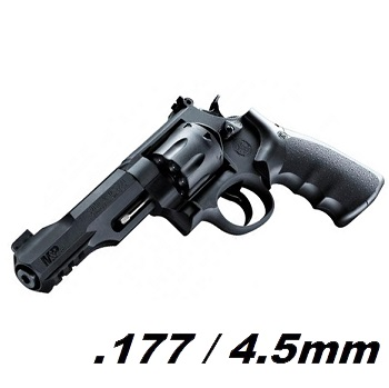 Smith & Wesson M&P R8 Co² Revolver 4.5mm BB - Black