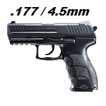 Heckler & Koch P30 Co² 4.5mm Diabolo & BB