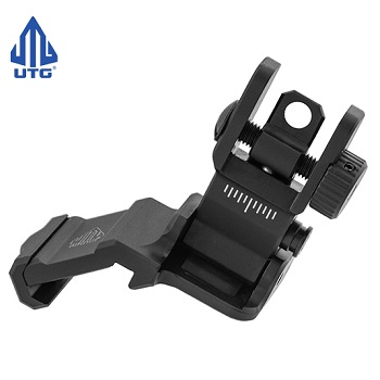 Leapers ® UTG Low Profile OffSet FlipUp Rear Sight - Black
