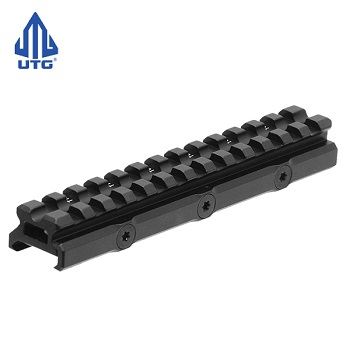"Leapers ® UTG 13-Slot Mount Riser ""20 MOA Comp."" - Low Profile"
