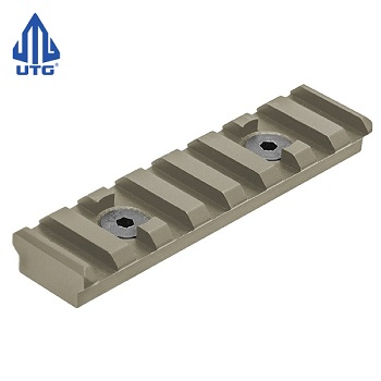 "Leapers ® UTG PRO ""M-LOK"" Rail Section (8 Slots) - FDE"