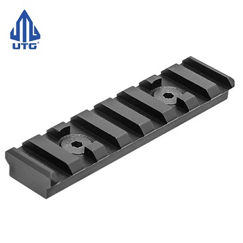"Leapers ® UTG PRO ""M-LOK"" Rail Section (8 Slots) - Black"