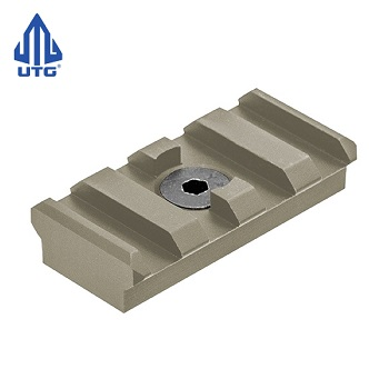 "Leapers ® UTG PRO ""M-LOK"" Rail Section (4 Slots) - FDE"