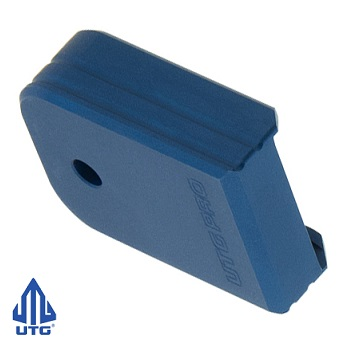 "Leapers ® UTG PRO +0 Magazine Base Pad ""Glock Small Frame"" - Matte Blue"