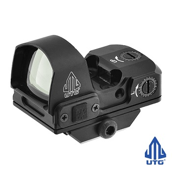 "Leapers ® UTG Reflex Micro Dot ""Green"" (4 MOA) - Black"