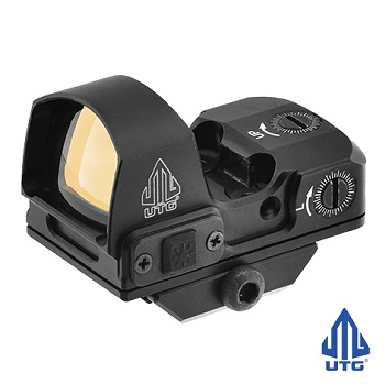 "Leapers ® UTG Reflex Micro Dot ""Red"" (4 MOA) - Black"