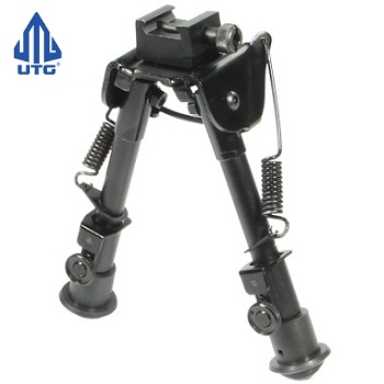 "Leapers ® UTG Tactical OP BiPod (6.1""- 7.9"") - Black"