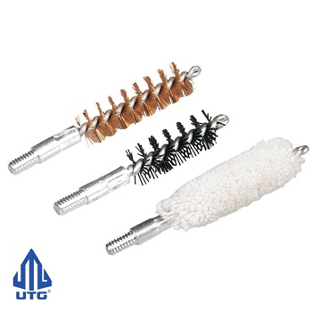 Leapers ® UTG Pistol Cleaning Bore Brushes - Caliber .44 / .45