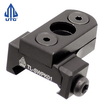 "Leapers ® UTG Low Profile QD Port ""KeyMod"" & Picatinny - Black"