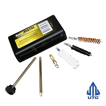 Leapers ® UTG Pistol Cleaning Kit - 9mm / .38 / .357