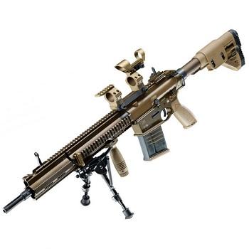 """VFC x Heckler & Koch G28 AEG DMR Rifle """"Deluxe Edition"""" - Desert"""