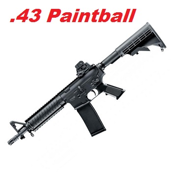 VFC M4 RIS CQB-R (T4E TM4 RIS) Cal .43 Real Action Paintball Marker