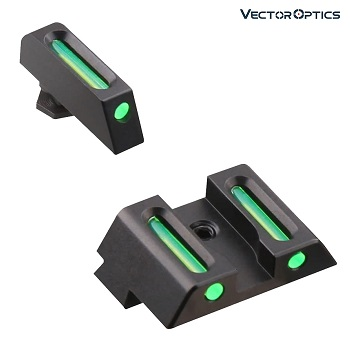 Vector Optics ® LA Fiber Sight Set für Glock ® Serie