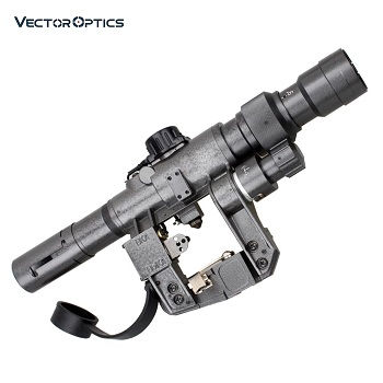 Vector Optics ® SVD 3-9x24 FFP Rifle Scope Zielfernrohr - Grey