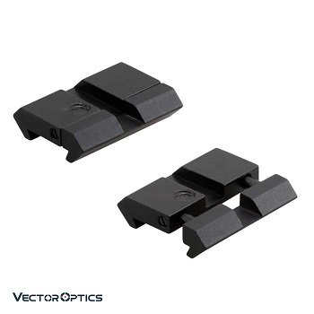 Vector Optics ® Weaver/Picatinny zu 11mm Adapter - 2er Pack