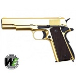WE M1911 GBB - 24k Gold