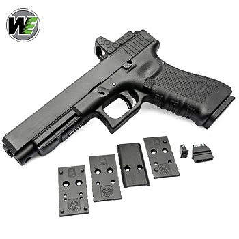 WE x AW Custom P34 MOS (Gen. 4) GBB - Black