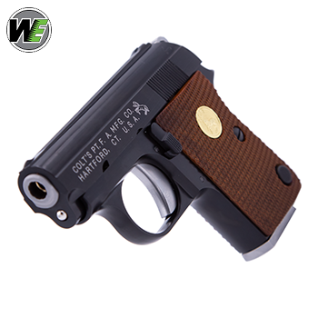 WE x Colt Junior Pocket Pistol GBB Pistole - Black