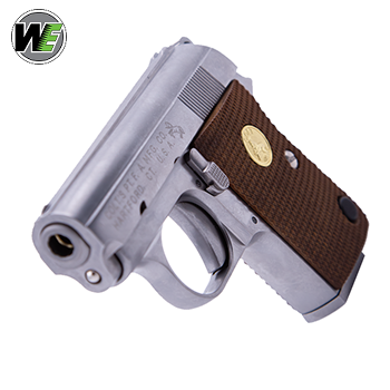 WE x Colt Junior Pocket Pistol GBB Pistole - Stainless
