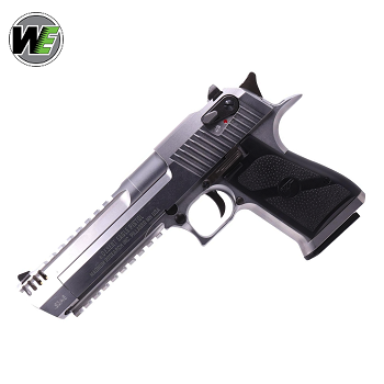 WE x IMI Desert Eagle L6 .50AE GBB - Stainless