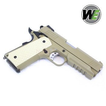"WE M1911 ""Desert Warrior"" 4.3 GBB - Desert"