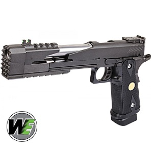 WE Hi-Capa 7 Dragon B GBB - Black