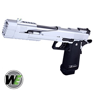 WE Hi-Capa 7 Dragon B GBB - Silver