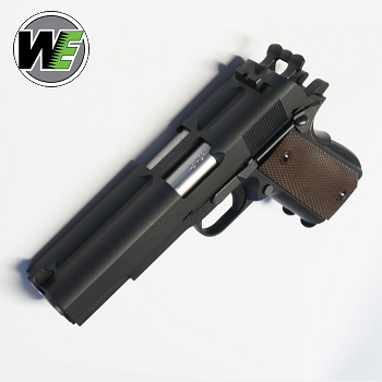 "WE M1911 GBB ""Double Barrel Pistol"" - Black"