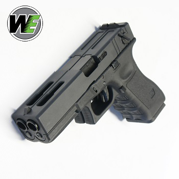 "WE G18C GBB ""Double Barrel Pistol"" - Black"