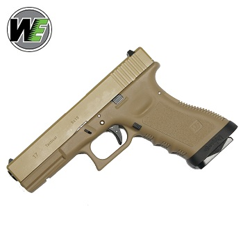"WE G17 ""Tactical"" GBB - Coyote TAN"