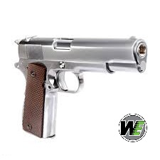 WE M1911 GBB - Chrome