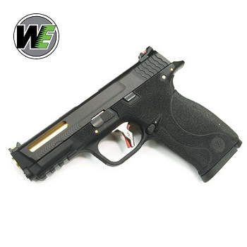 "WE M&P 9 ""SAI Style"" (Black Slide, Gold Barrel) - Black"