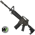 WE M4 R.A.S. GBBR - Black