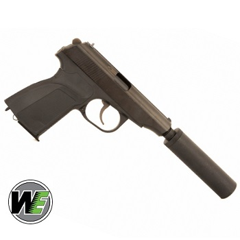 WE Makarov PM Pistol GBB Set - Black
