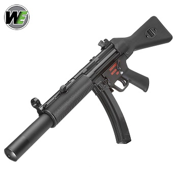 "WE SMG5 SD1 ""Apache"" GBB SMG"