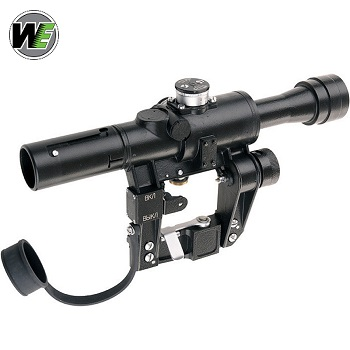 WE PSO-1 SVD Scope Beleuchtet - Black