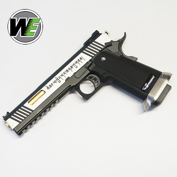 "WE Hi-Capa ""SAI Style"" 6.0 (DualTone Slide, Golden Barrel) - Black"