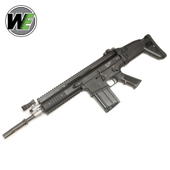 WE SCAR-H MK.17 Mod 0 CQC GBBR - Black
