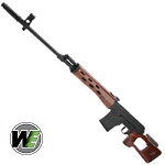 WE SVD GBBR - Wood