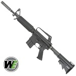 WE XM-177 E2 Gas Blow Back Rifle